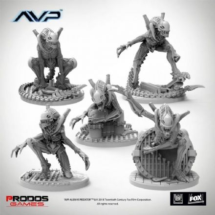 AvP: The Hunt Begins - Alien Warriors UniCast Expansion